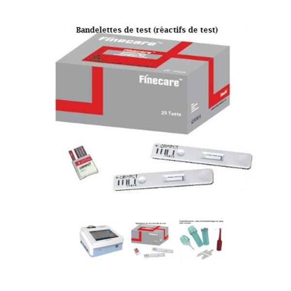 Analyseur immunochromatographique FFineceare Meter Plus